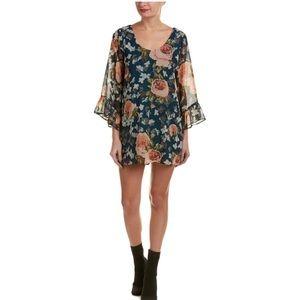Gorgeous Show Me Your MuMu Low Back Floral Dress M